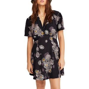 Free People Blue Hawaii Mini Dress Size S